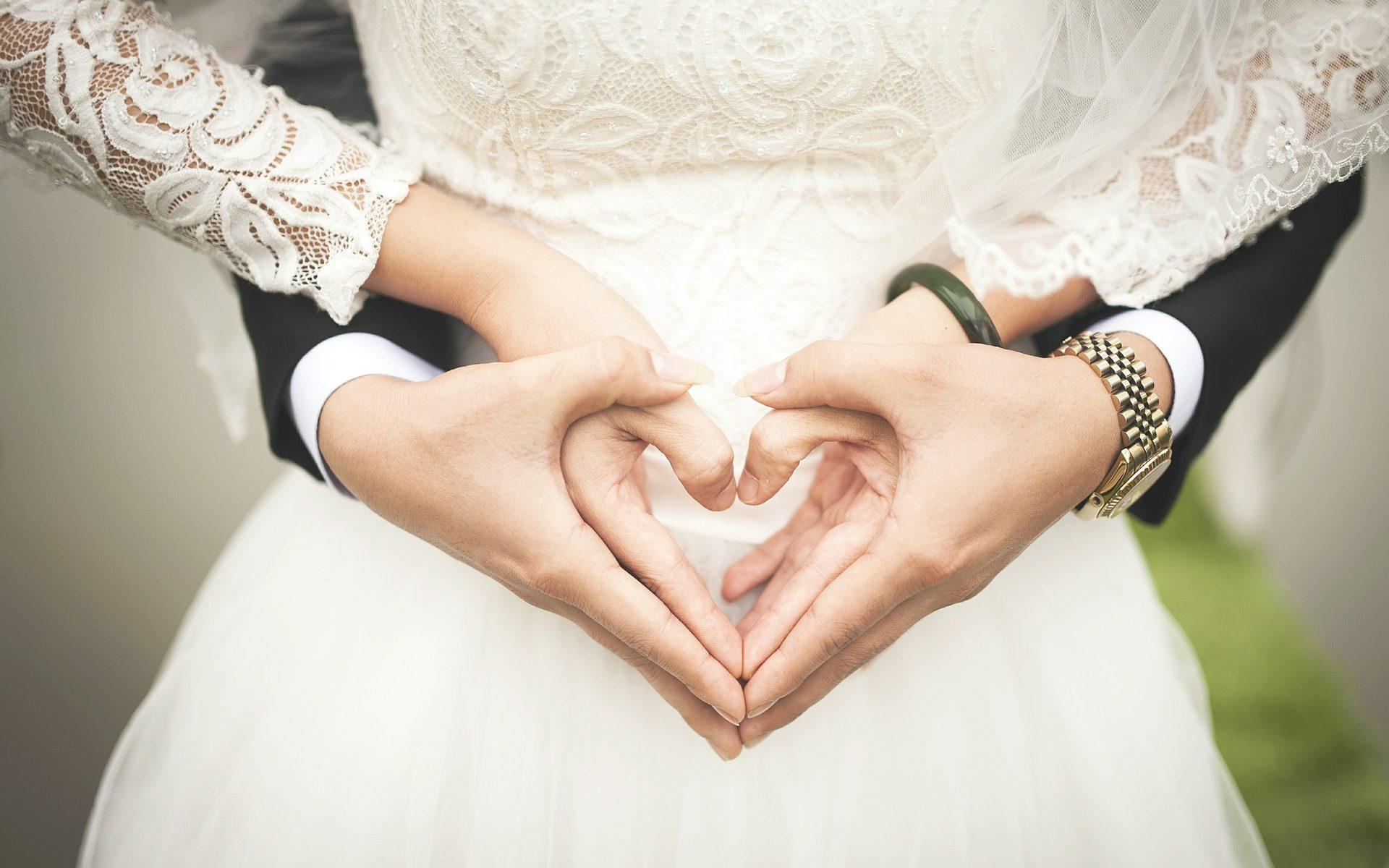 Heiraten im Stadion