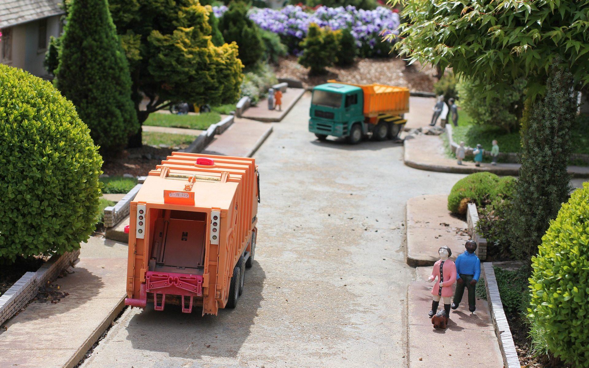 Vollelektrische Müllfahrzeuge
