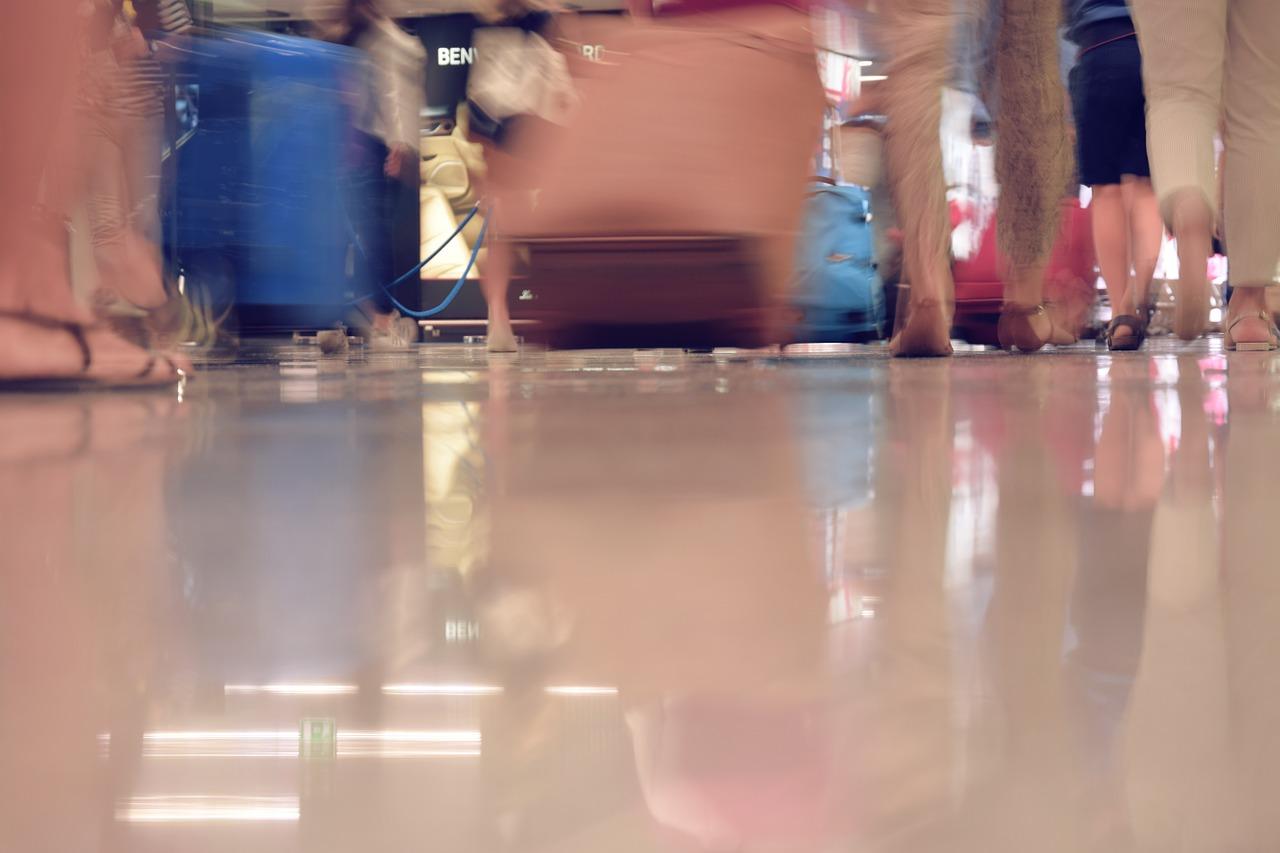 herrenlose Gepäckstücke