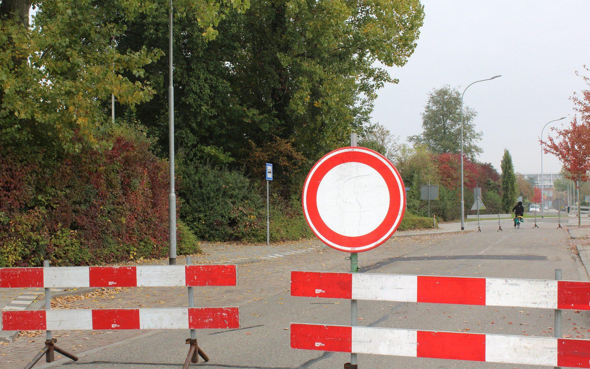 Straßensperrung im Waldstraßenviertel aufgrund Veranstaltungen am Sportforum